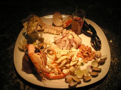 Ristorante concordia sagittaria specialit pesce for Ristorante amo venezia prezzi